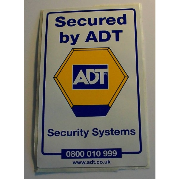 Adt window sticker · adt window sticker