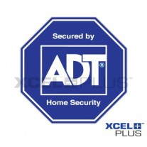 """ADT Home Security"" Alarm Window & Door Stickers"