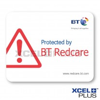 BT Redcare Alarm Window Stickers
