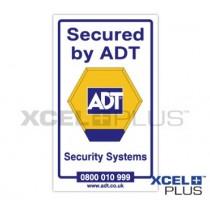 ADT Window Sticker