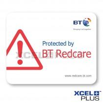 BT Redcare Window Stickers