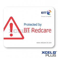 BT Redcare Window Stickers