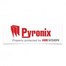 Pyronix Window Sticker