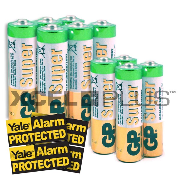Yale HSA6000 Series Sensors Battery Pack with stickers