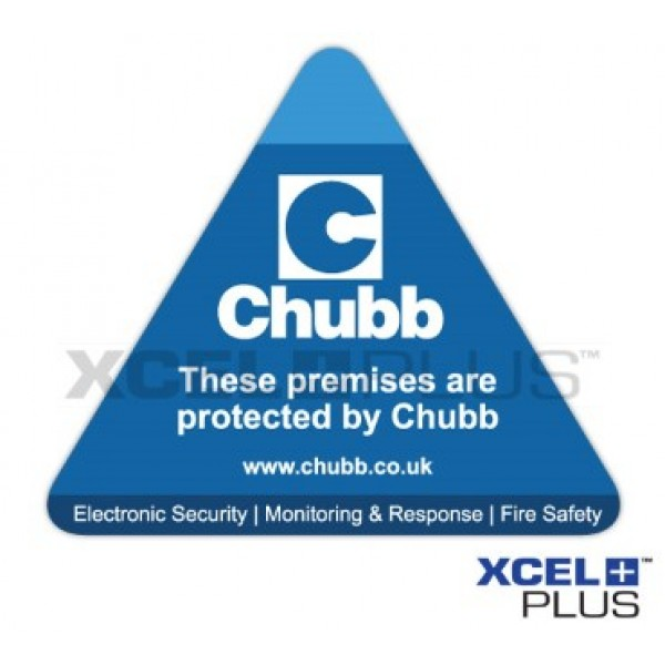 Chubb Window Sticker