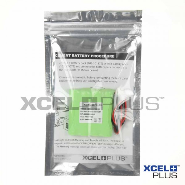 Yale SMART HUB battery packaging