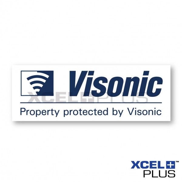 Visonic Window Sticker