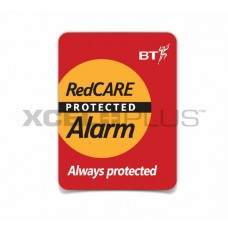 BT Redcare Protected Alarm Window Stickers