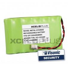 Visonic 303689 1300mA + 2 Stickers
